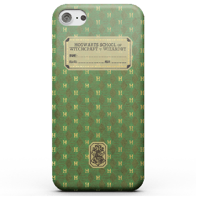 Harry Potter Slytherin Text Book Phone Case for iPhone and Android - iPhone 6S - Carcasa rígida - Mate