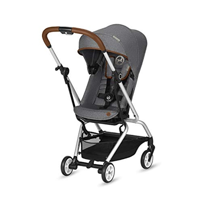 Cybex - Silla De Paseo Eezy S Twist Denim Collection Manhattan Grey Gris