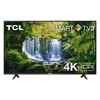 TV TCL 55P611 55 pollici, 4K HDR, Ultra HD, Smart TV 3.0 (Micro dimming PRO, Smart HDR, Dolby Audio, T-Cast), compatibile con Alexa